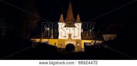 Winter Night In Brasov
