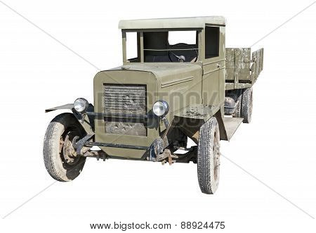Soviet Old Truck Uralzis