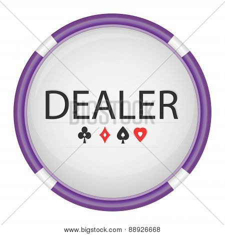 Dealer Button 02