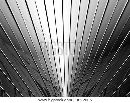 Aluminum Stripe Pattern Background