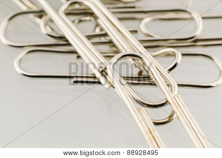 Paper Clip Isolated