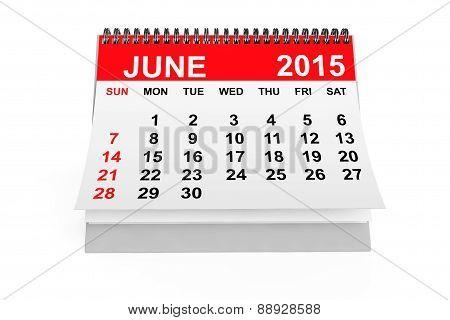 Calendar June 2015