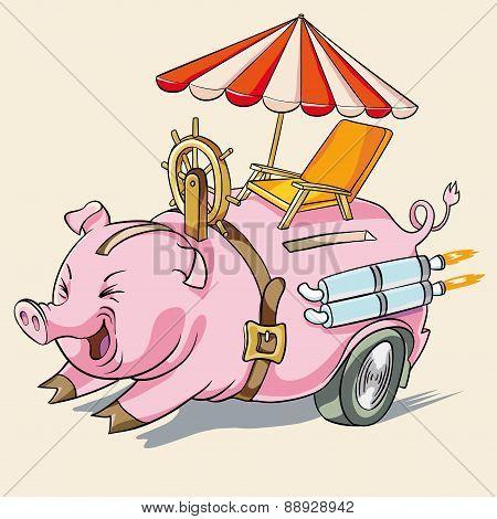 pig piggy or rapid accumulation