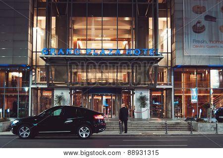 Bucharest, Romania - April 02: Howard Johnson Hotel On April 02, 2015 In Bucharest, Romania.