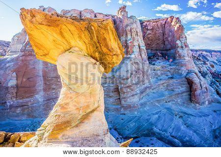 Hoodoos At Stud Horse Point In Arizona