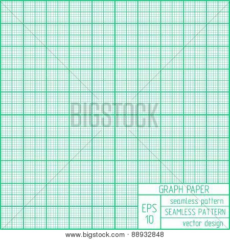 Graph Paper Seamless Pattern