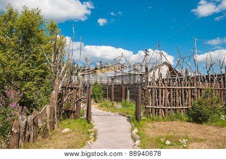 lath fence