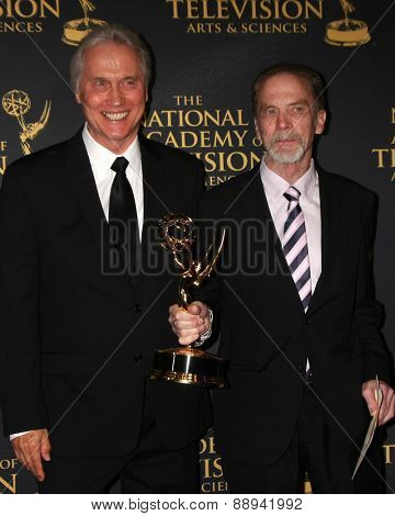 LOS ANGELES - FEB 24:  Outstanding Technical Team, Bold and Beautiful at the Daytime Emmy Creative Arts Awards 2015 at the Universal Hilton Hotel on April 24, 2015 in Los Angeles, CA