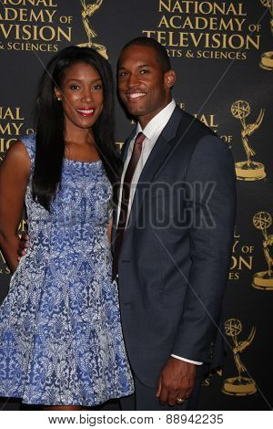 LOS ANGELES - FEB 24:  Lawrence Saint-Victor at the Daytime Emmy Creative Arts Awards 2015 at the Universal Hilton Hotel on April 24, 2015 in Los Angeles, CA