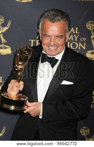 LOS ANGELES - FEB 24:  Ray Wise at the Daytime Emmy Creative Arts Awards 2015 at the Universal Hilton Hotel on April 24, 2015 in Los Angeles, CA