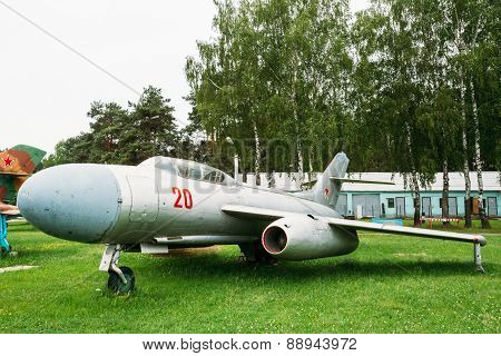 Su-7 Russian Soviet fighter-bomber developed in 1950s, Sukhoi de