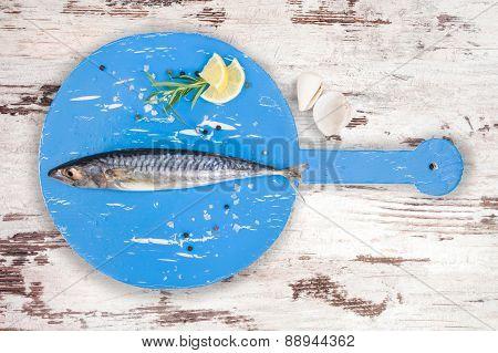 Delicious Fresh Mackerel Fish