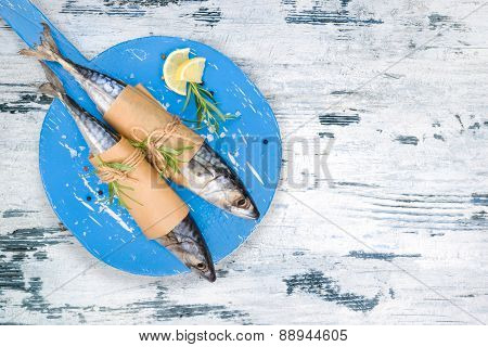 Mediterranean Fish Eating.