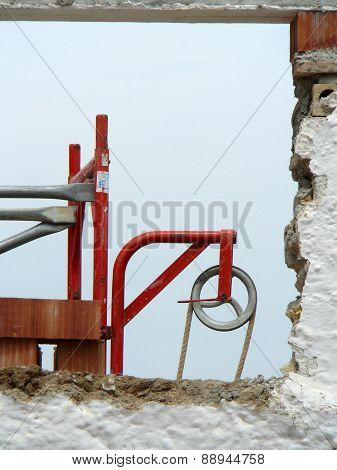 Pulley Wheel And Rope