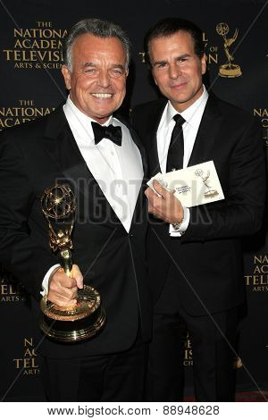 LOS ANGELES - APR 24: Vincent De Paul, Ray Wise at The 42nd Daytime Creative Arts Emmy Awards Gala at the Universal Hilton Hotel on April 24, 2015 in Los Angeles, California