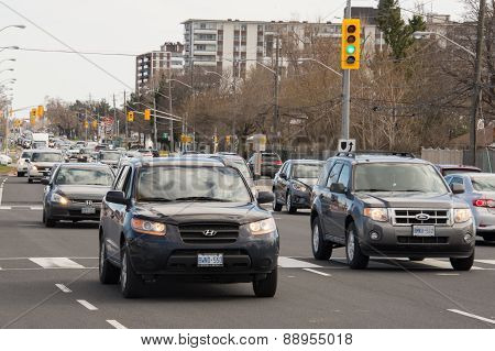 Traffic Congestion In Victoria Park Avenue