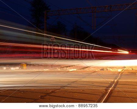 Night trains.