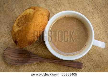 Above, Aroma, Background, Baked, Beverage, Black, Breakfast, Brown, Cafe, Caffeine, Cake, Ceramic