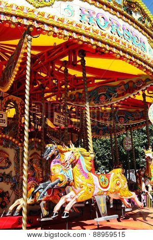 Carousel merry-go-round