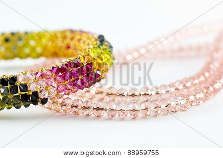 Necklace Diamond And Bangle