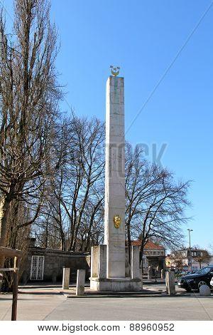 Obelisk to Napoleon, Ljubljana
