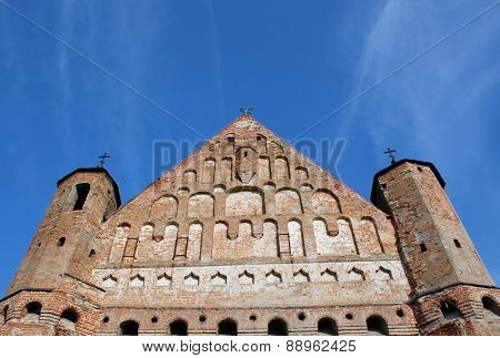 Fragment Of The Old Architecture. Church
