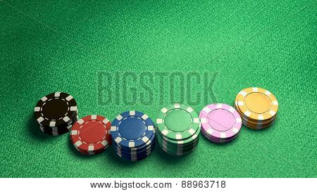 Casino Chips Of Bet