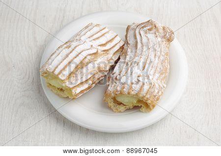 Sweet Cake With Creamy