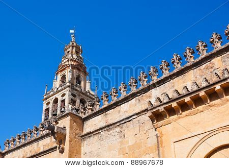 Mezquita Mosque Cathedral bell tower - Cordoba Spain