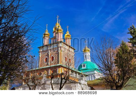 Church in the Trinity Sergius Lavra in Sergiev Posad - Russia