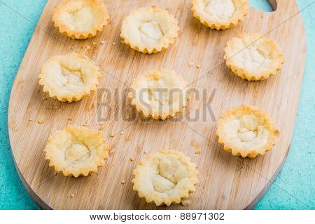 Lower Part Muffins Without Cream.