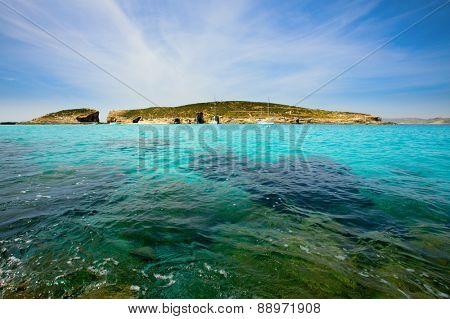 blue lagoon Comino island Malta Gozo