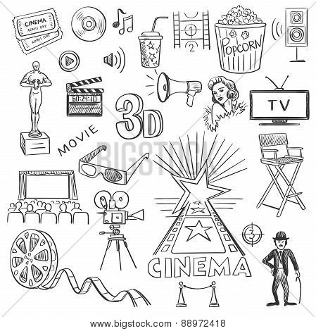 Hand drawn cinema