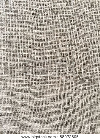 Rugged linen fabric background