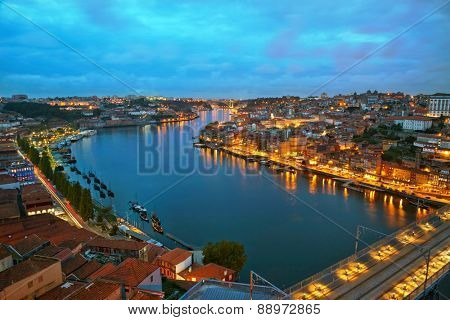 Citylights of Porto, Portugal