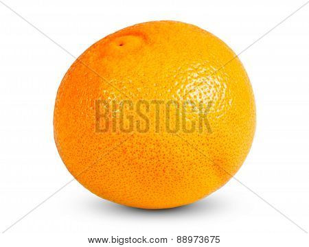 Fresh tasty Grapefruit. Rich with vitamin C isolated on white background.