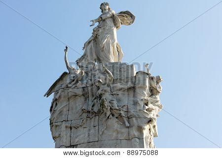 Monument To The Spanish - Buenos Aires, Argentina