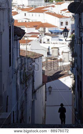 Streets Of Jerez De Los Caballeros