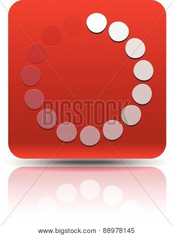Circular, Round Design Elements. Preloader, Buffers Shapes, Progress Indicators. Vector Illustration