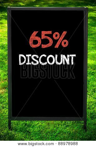 Sixty-five Percent Discount