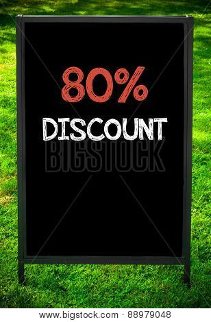 Eighty Percent Discount
