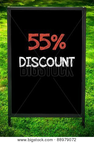 Fifty-five Percent Discount