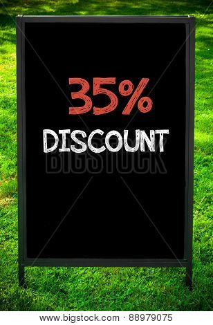 Thirty-five Percent Discount