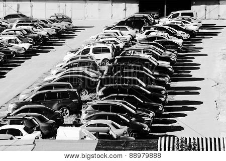 Garage And Cars