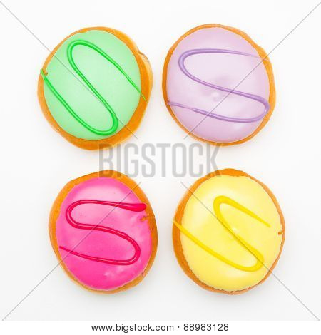 colorful pastry