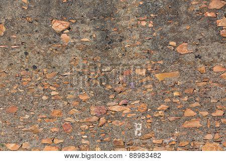 background - retro stone wall