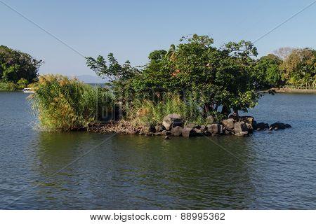 Island Or Isletas, Of Lake Nicaragua Near Granada, Nicaragua