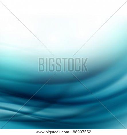 Beautiful Blue Satin,  Illustration  easy editable