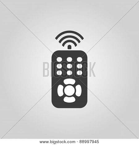 The Remote Control Icon. Remote Control Symbol