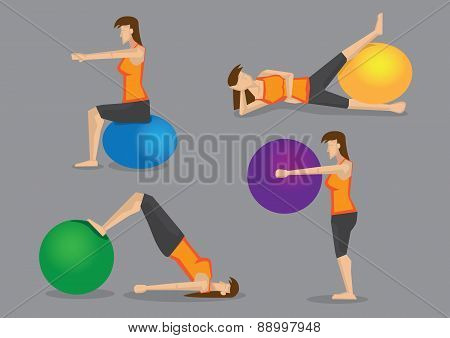 Workout Routine With Exercise Ball For Women